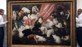 """""""ჩემი ცოლის საყვარლები"""" და სხვა ყველაზე ძვირი ნახატები კატებთან ერთად"""