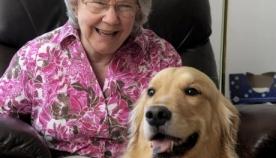 დამხმარე ძაღლმა პატრონი გულის შეტევისგან იხსნა
