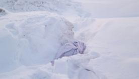 თოვლში გადახვეული ნაჭერი ეგდო... იქ აღმოჩენილზე მთელი ქალაქი ლაპარაკობდა