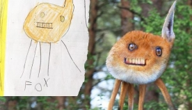 ბავშვების თვალით დანახული ცხოველთა სამყარო (სახალისო ფოტოები)