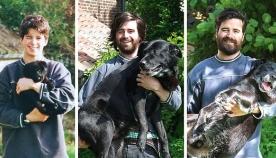 ცხოველებისა და მათი პატრონების პირველი და უკანასკნელი ფოტოები (+ფოტო)
