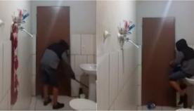 აბაზანაში მომწყვდეული ვირთხის დაჭერის მცდელობამ სრული კრახი განიცადა (+ვიდეო)