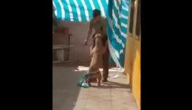 ძაღლი თავის გადამრჩენელ პოლიციელს ჩაეხუტა (ემოციური ვიდეო)