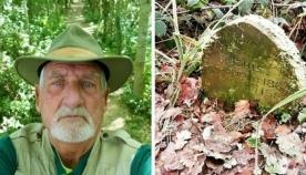 ბრიტანელმა პენსიონერმა ტყეში  აღმოაჩინა 130 წლის საფლავი, რომელიც ადამიანს არ ეკუთვნოდა