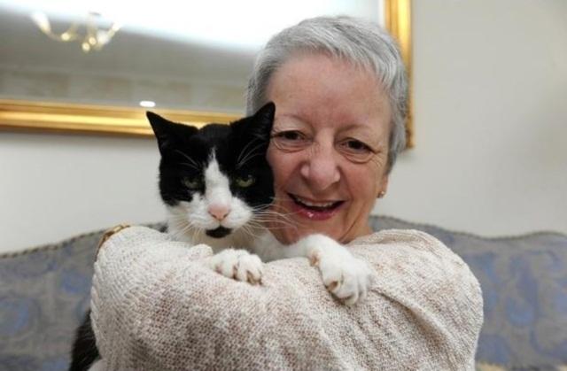 ქალი ვერ ხვდებოდა, რატომ წვებოდა კატა მის მხარზე. სიმართლე საშინელი აღმოჩნდა!
