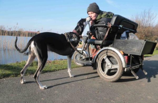 სამფეხა ძაღლმა პატრონი თვითმკვლელობისგან იხსნა