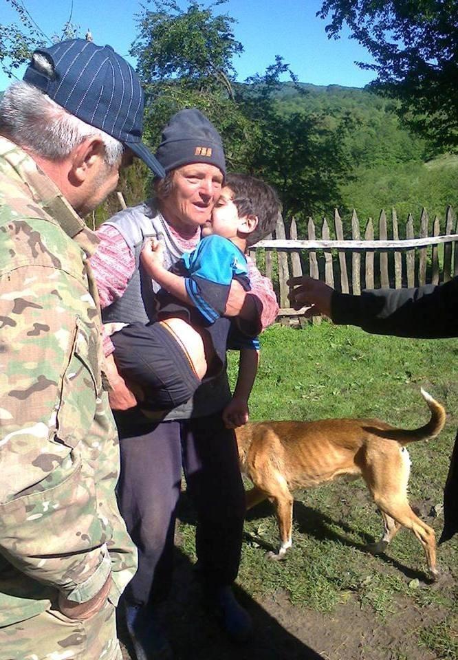 საჩხერის რაიონის სოფელ უზუნთაში ძაღლმა 7 წლის ბავშვი გადაარჩინა