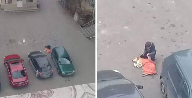 """""""თავისთვის იწვა ძაღლი, ეფერა და მერე თავისი ქურთუკი დააფარა,""""- დღის ფოტო"""