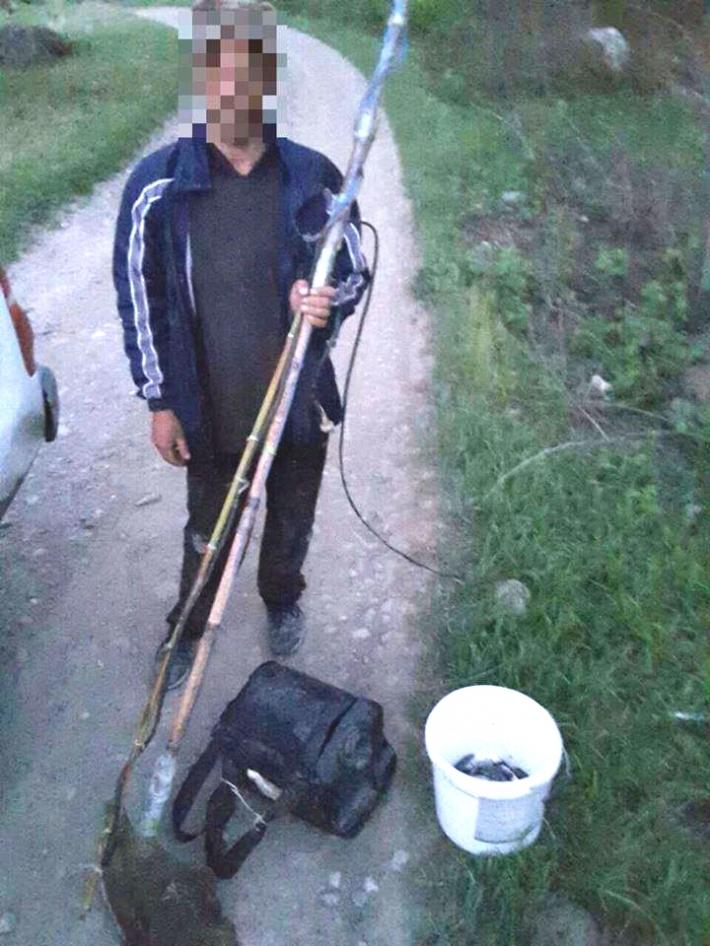 მდინარე ალაზანზე ელექტროშოკური აპარატით თევზაობის ფაქტი გამოავლინეს