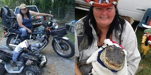 ქალმა ბევრი იბრძოლა, რათა შინაურ ცხოველად ალიგატორი ჰყოლოდა (+ვიდეო)