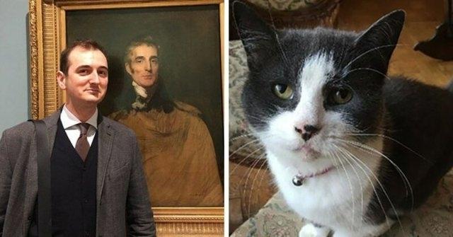ბრიტანეთში კატამ დააზიანა XVII საუკუნის ნახატი, რომელიც მის პატრონს - ხელოვნებათმცოდნეს ეკუთვნოდა