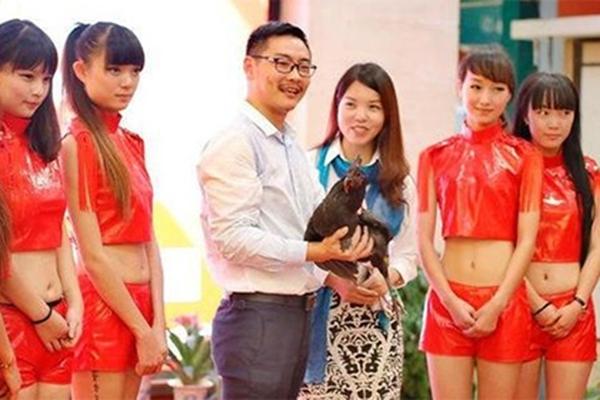 ჩინეთში ყველაზე ლამაზი ქათამი გამოავლინეს